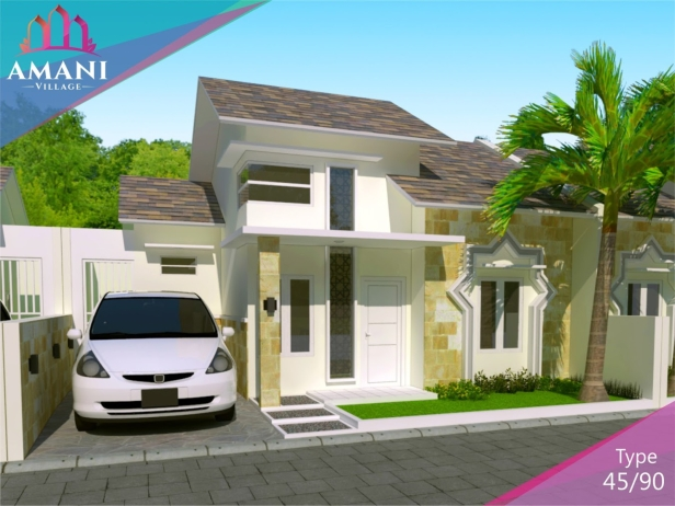 amani house type 45 siang