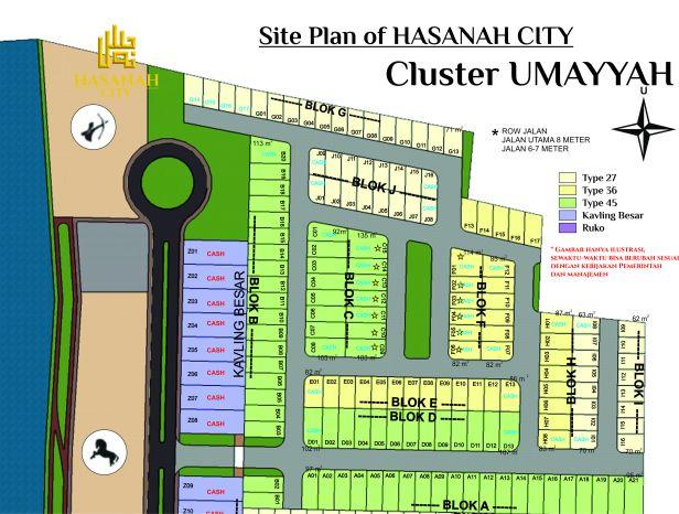 site plan UMAYAH