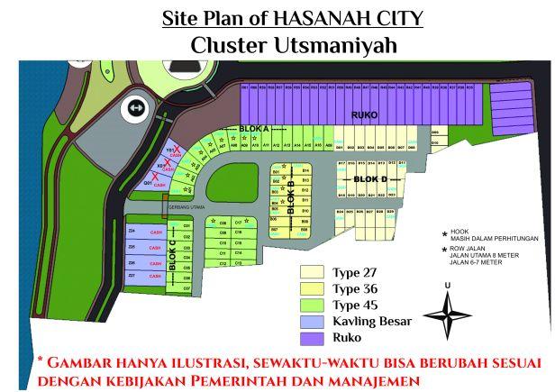 site plan UTSMANIYAH